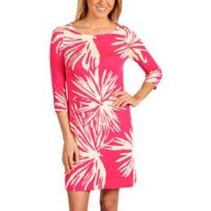 Lilly Pulitzer Azalea Pink Frilly Fern Dress